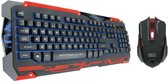 Dragon War Sencaic Mouse Keyboard Black Edition Qwertzu