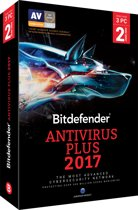 Bitdefender Antivirus Plus 2017 -  Nederlands / Frans - 3 Apparaten - 2 Jaar - Windows