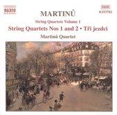 Martinu: String Quartets Vol.1