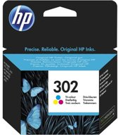 HP 302 - Inktcartridge / Kleur / Blister (F6U65AE)
