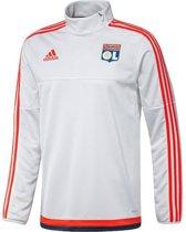 Adidas Olympique Lyon Trainingstrui - Maat XXL - Kleur Wit
