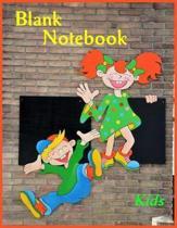 Blank Notebook Kids