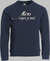 Sweater Mens erger je niet - Darknavy - M