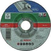 Bosch slijpschijven set - Voor metaal - 125 x 2,5 mm - gebogen - 5 stuks
