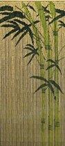 Bamboe Vliegengordijn 200x90cm Jungle met Ophangtool
