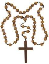 Kruis aan kralen ketting