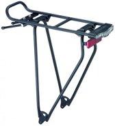 Racktime Standit Shine fiets bagagedrager zwart Uitvoering 28 inch
