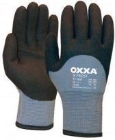 Oxxa handschoenen X-frost 51-860 grijs/zwart maat 11 XXL