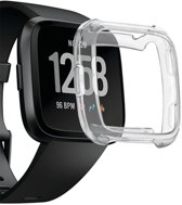 Fitbit Versa Hoesje Transparant TPU Siliconen Soft Gel Case - van iCall