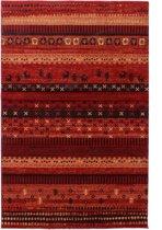 Moderne Inka Vloerkleed  - 200X290cm - Rood