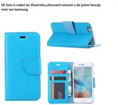 PaxxMobile Basixx Cover voor Samsung Galaxy S6 Edge Plus G928 Boek Cover Book Case Turquoise
