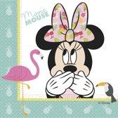 Minnie Mouse Servetten Tropical 33x33cm 20 stuks