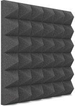 Piramide akoestisch studioschuim 30x30cm 5cm dik (12 stuks)