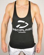 Fitness Stringer Classic | Zwart - Disciplined Apparel