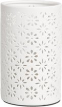 6LMP105 - Tafel lamp E27 - Doorsnede/hoogte: 12 x 20 cm E27 / Max 60W - keramiek - natuur