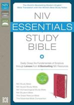 NIV, Essentials Study Bible, Hardcover