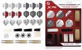 XQMax - 2 sets dartpijlen plus 84 pcs Darts Accessory kit - dartset - dartpijlen - cadeauset
