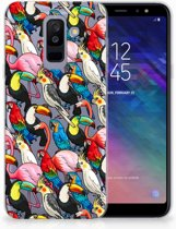 Samsung Galaxy A6 Plus (2018) TPU Siliconen Hoesje Birds