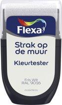 Flexa Strak op de Muur Tester - Watergedragen - Mat - fris wit RAL 9016 - 0,3 liter