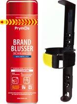 Prymos spray Brandblusser voor de auto, camper en boot, vorstbestendig, inclusief houder.