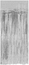 Zilveren Deurgordijn Folie 2 meter