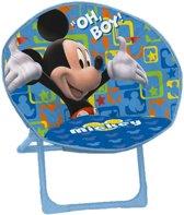 Disney Campingstoel Mickey Mouse Junior Blauw 50 Cm