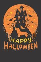 Halloween Dachshund Notebook