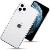 Hoesje voor Apple iPhone 11 Pro Max, gel case, volledig doorzichtig