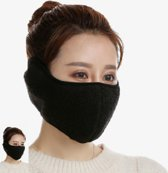 Relephance Face mask – Half face – Teddy – Klittenband sluiting- Skimasker - Winter