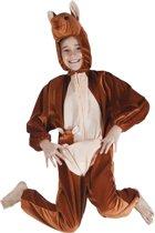 Onesie kinderkostuum kangoeroe