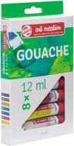 Talens Art Creation gouache 8 tubes 12ml