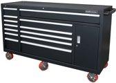 Kraftmeister Industriële gereedschapswagen met 13 laden - zwart
