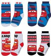 Cars Mcqueen sokken - set van 4 paar - maat 31/34