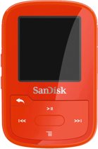 SanDisk Clip Sport Go 32GB, red