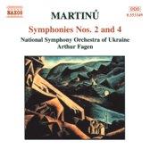 Nso Of Ukraine - Symphonies 2 & 4