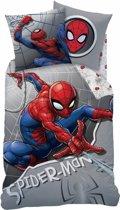 Spider-Man Superhero - Dekbedovertrek - Eenpersoons - 140 x 200 cm - Multi