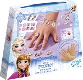 Disney Frozen Icy Glow Jewels & Nail Art - Armband maken en nagels versieren