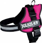 Julius K9 IDC Powertuig/Harnas - Maat 3/82-118cm - XXL - Fuchsia