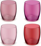 Royal Leerdam Match&color Arch tumbler sweet red - 0.34 l - 4 stuks