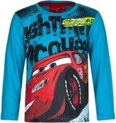 Cars t-shirt petrol blauw 128