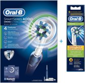 Oral-B SMARTSERIES 4000 Cross Action + 4 extra opzetborstels