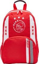Ajax-rugtas wit-rood-wit logo