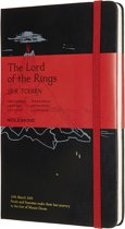 Moleskine Limited Edition-Notitieboek-Lord Of The Rings-Large-Gelineerd - Moria