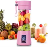 Blend & Go Draagbare blender - Smoothie blender - Portable Blender - Roze