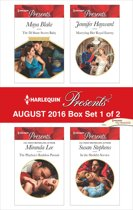 Harlequin Presents August 2016 - Box Set 1 of 2