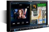 Alpine X801D-U Vast 8'' Touchscreen Zwart navigator