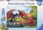 Ravensburger XXL puzzel Drakengevecht 200 stukjes