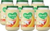 Olvarit 6 maanden - banaan appel yoghurt - 6x200g