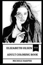 Elizabeth Olsen Adult Coloring Book