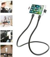 Flexibele smartphone tablet houder standaard voor nek, auto of bureau